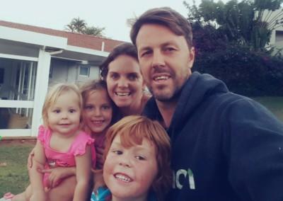 Lourens Family selfie